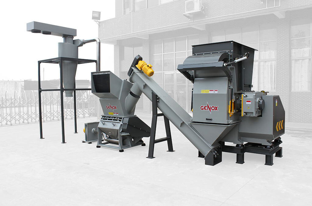 Shredding & Granulation System